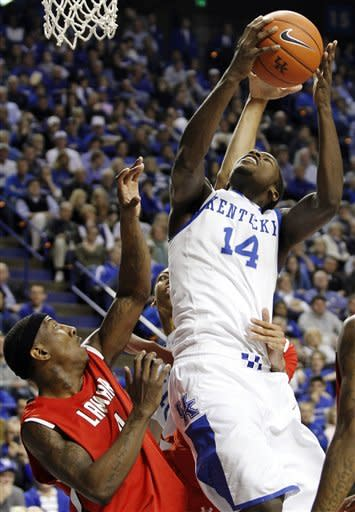 No. 3 Kentucky beats Lamar 86-64