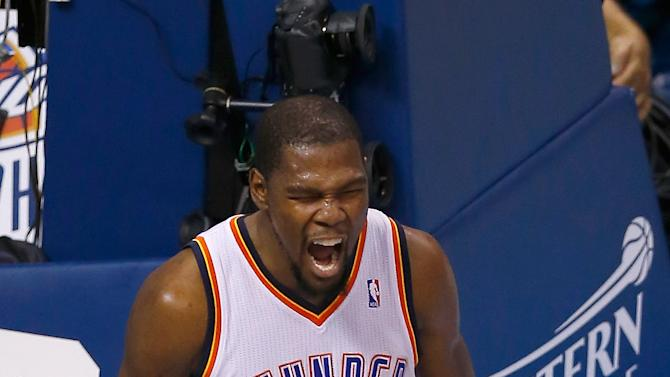Kevin Durant, LeBron James lead All-NBA selections