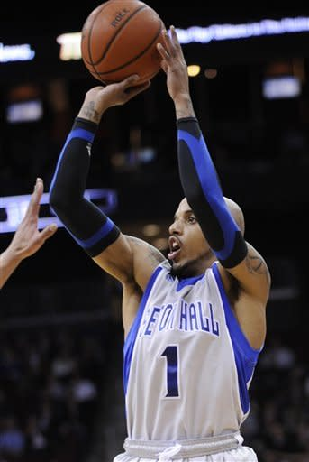 Seton Hall upsets No. 9 Georgetown 73-55