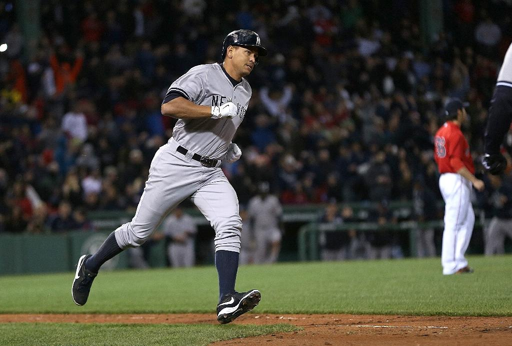 A-Rod ties Mays for fourth on all-time homer list