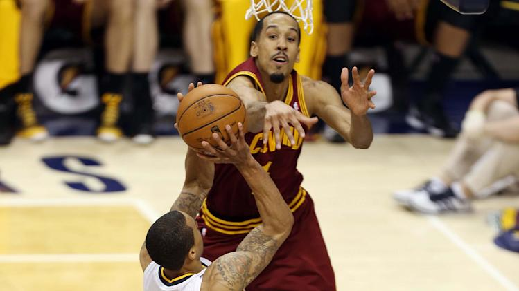 NBA: Cleveland Cavaliers at Indiana Pacers
