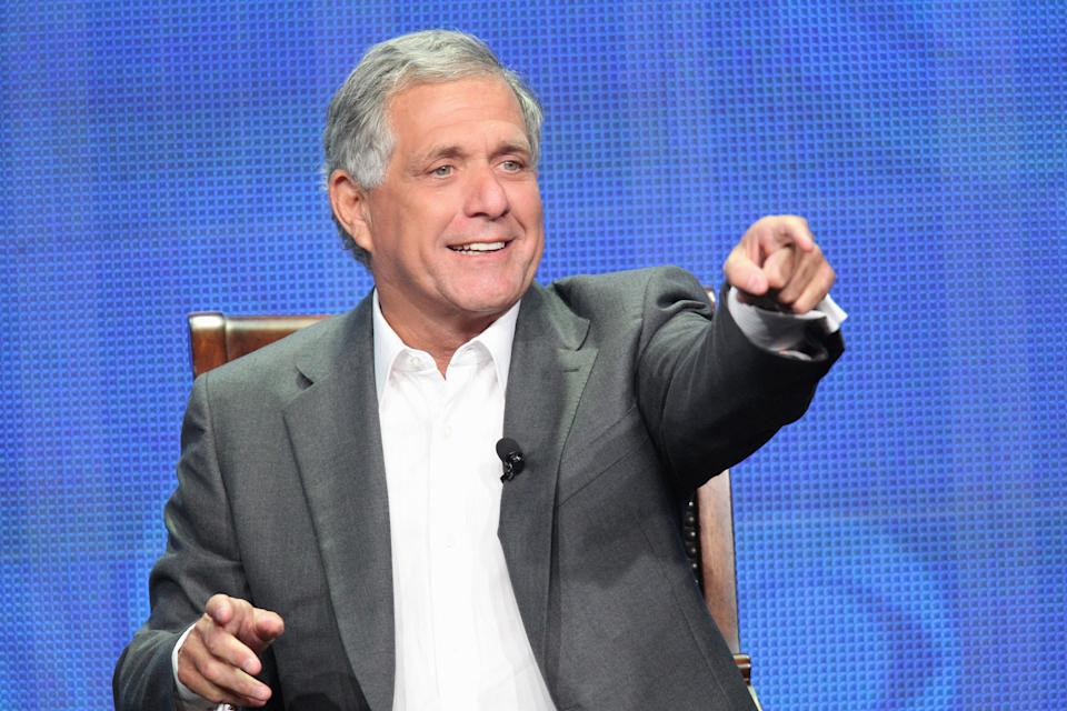 This publicity image released by CBS shows Leslie Moonves, President and Chief Executive Officer for CBS Corporation during the TCA Summer Press Tour 2013, on July 29, 2013 in Beverly Hills, Calif. (AP Photo/CBS, Monty Brinton)