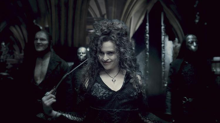Harry Potter and the Half Blood Prince Production Photos Warner Brothers 2009 Dave Legeno Helena Bonham Carter