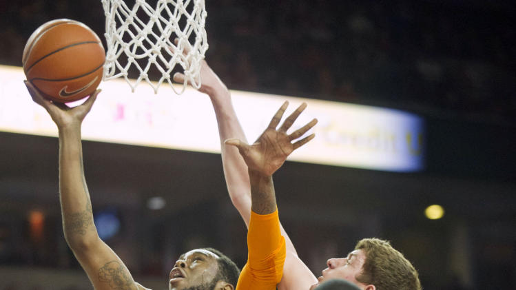 NCAA Basketball: Tennessee at Arkansas