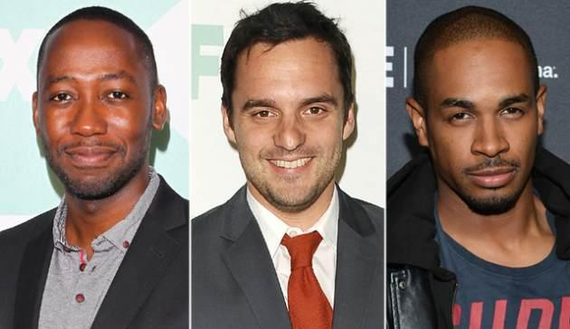 Lamorne Morris, Jake Johnson and Damon Wayans Jr -- Getty Images