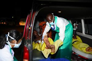 Paramedics attend to injured Kenyan students at Kenyatta …