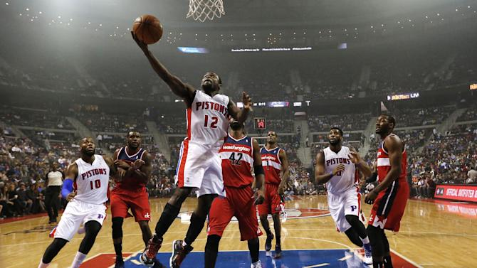New-look Pistons beat Wizards 113-102 in opener