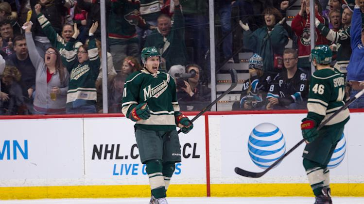 NHL: San Jose Sharks at Minnesota Wild