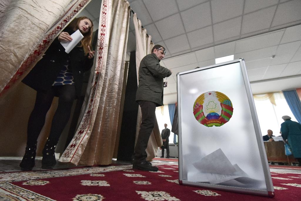 US says 'disappointed' by Belarus presidential election
