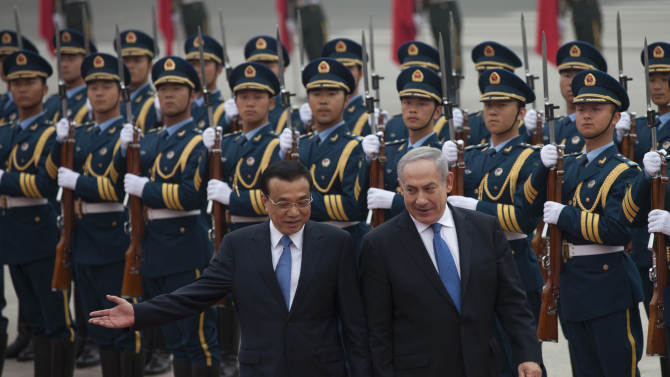 China urges Israel to hold talks with Palestinians