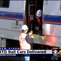 RTD's First Commuter Rail Cars Arrive In Denver