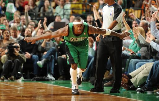 Pierce leads Celtics to 108-100 win over Thunder