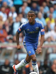 Ryan Bertrand became the first player to make his debut in a Champions League final