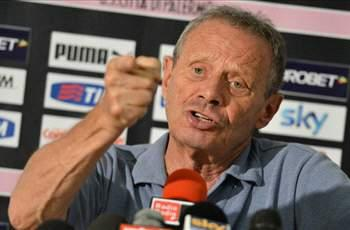 Palermo's Zamparini: I was wrong to appoint Sannino