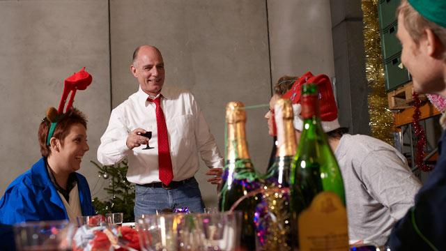 Good Cheer for the Economy? Holiday Office Parties Make Comeback