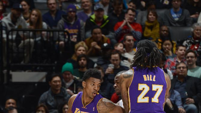Nick Young scores 29, Lakers beat Raptors 112-106