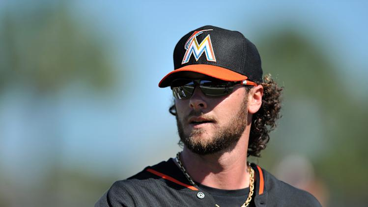MLB: Miami Marlins-Workout