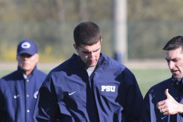 Zone read: Danny O'Brien spotted wearing a Penn State jacket, but mum on his ...