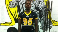 Central Gwinnett football player Francis Kallon Jr.