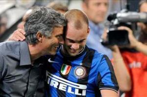 Sneijder on Mourinho: 'Tomorrow we are enemies'