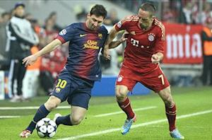 'Bayern isn't done yet' - Ribery issues Barcelona warning
