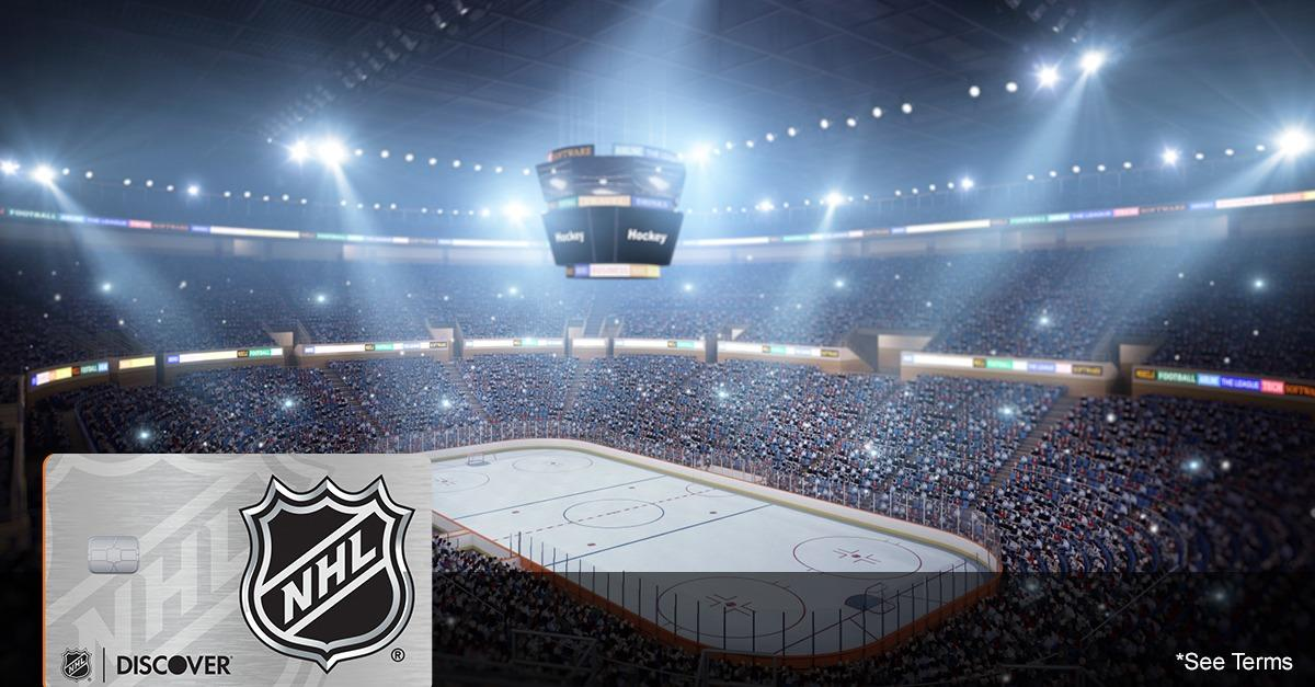 Represent! Get Your Team's NHL® Discover it® Card