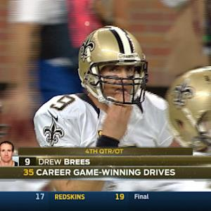 Week 7: New Orleans Saints quarterback Drew Brees highlights