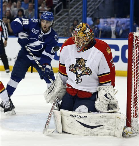 Panthers beat Lightning on Mueller's goal in SO