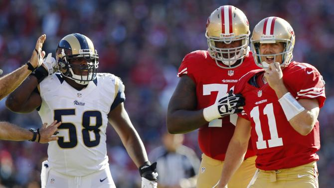 St Louis Rams v San Francisco 49ers