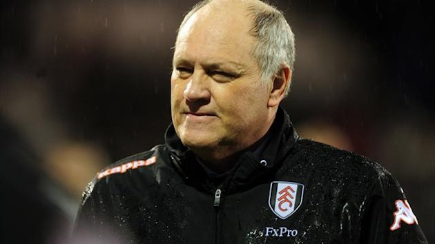 Fulham boss Martin Jol, pictured, has been impressed by new signing Chris David