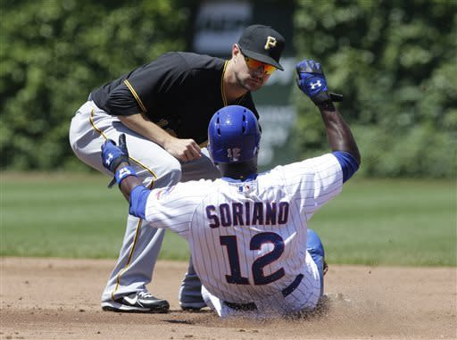 Francisco Liriano leads Pirates over Cubs 2-0