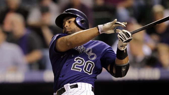 Rockies keep Cardinals tied for 1st with 6-2 win