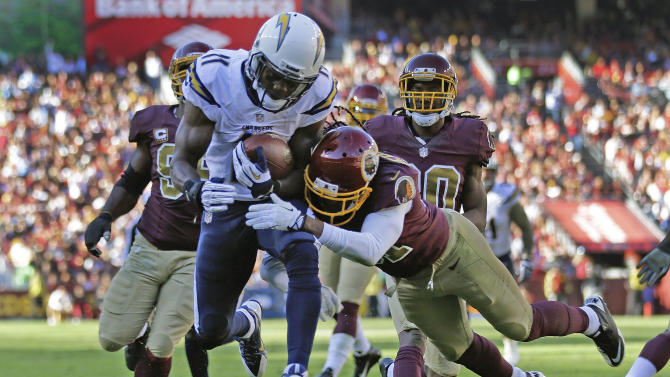 Replay helps Redskins top Chargers 30-24 in OT