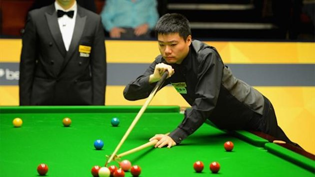 Ding Junhui in action