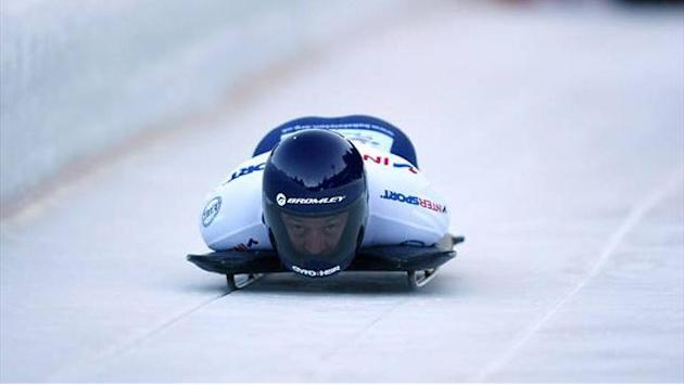 Skeleton - Experienced Bromley takes inspiration from Olympic veterans