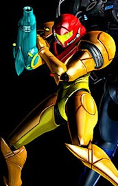 Samus in costume