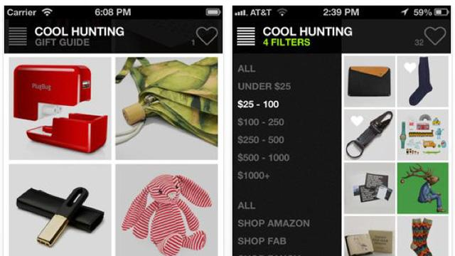 App of the Week: Cool Hunting Gift Guide