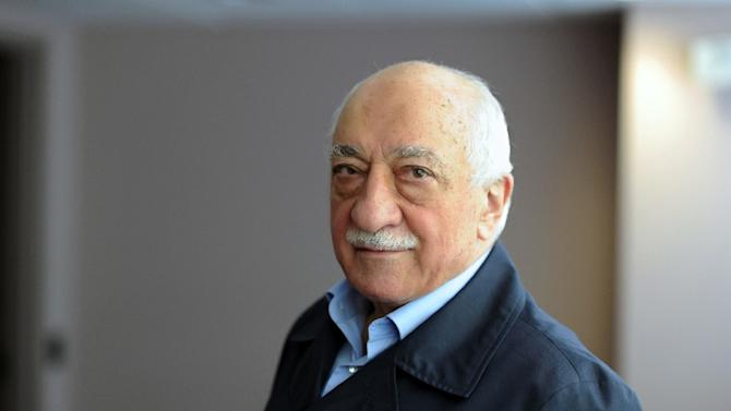 Handout picture released by Zaman Daily shows exiled Turkish Muslim preacher Fethullah Gulen at his residence on September 24, 2013 in Saylorsburg, Pennsylvania