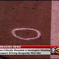 Kensington Shooting Leaves Man Critically Wounded