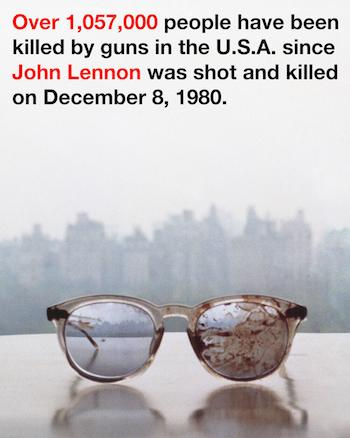 Yoko Ono Posts Photo of John Lennon's Bloody Glasses in Plea to End Gun Violence