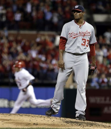 Cardinals rout Nationals, reduce magic number to 3