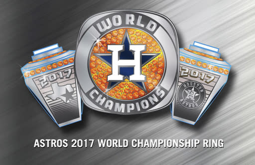 Astros Triple-A club pulls 2017 championship ring promotion