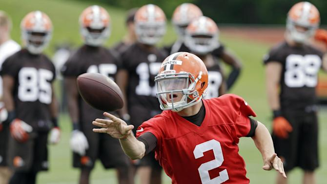 Browns not worried about Manziel playing baseball