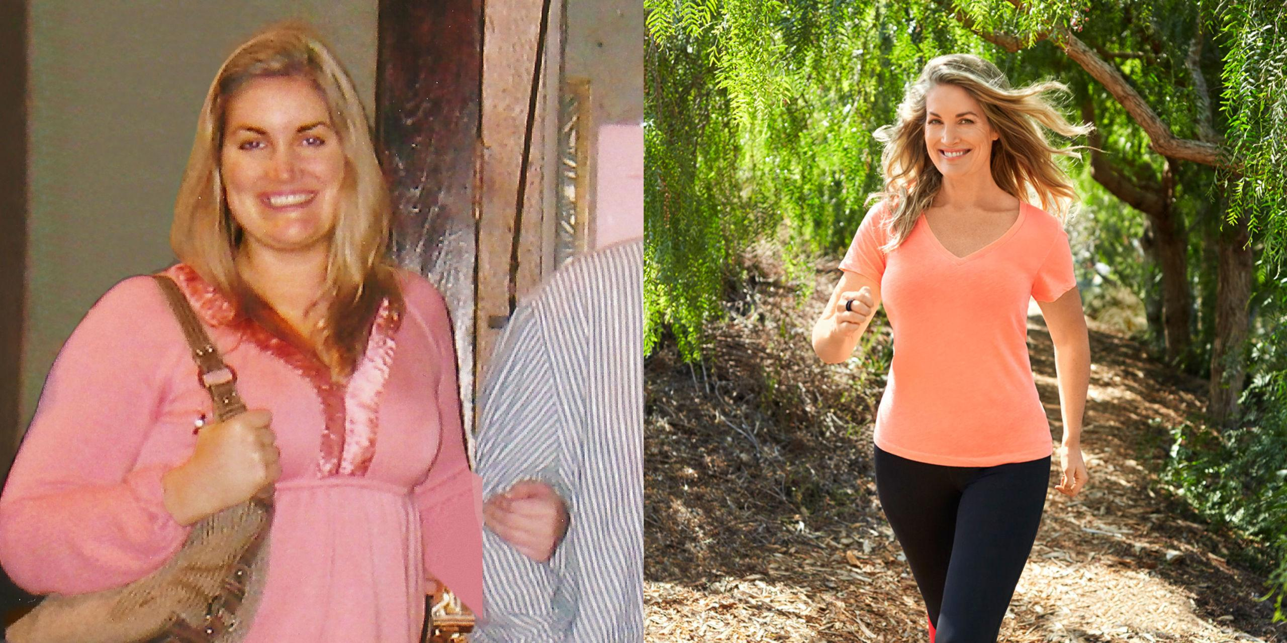 The Secret to This Woman's 102-Pound Weight Loss? Walking