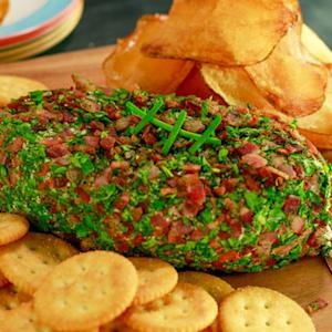 A Bacon, Cheddar and Ranch-Flavored Cheeseball