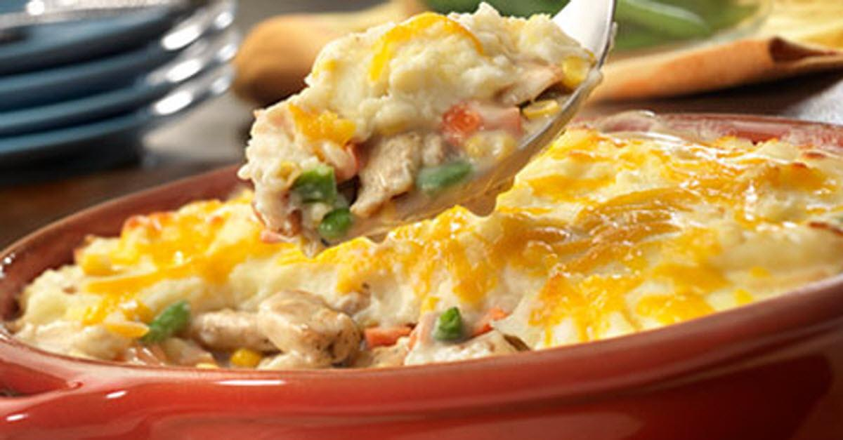 A Delicious Twist on Pot Pie Your Family Will Love