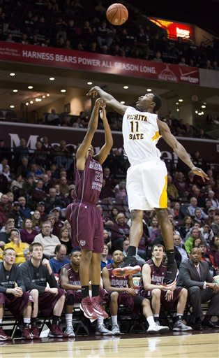 No. 20 Wichita State beats Missouri State 62-52