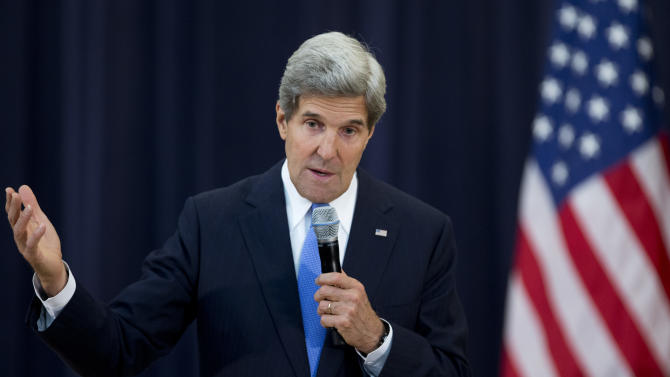 Kerry trip starts with tough Syrian, Afghan issues