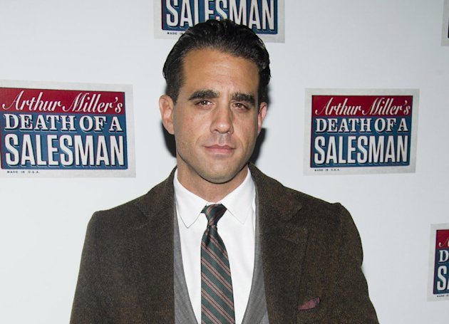 "FILE - In this March 15, 2012 file photo, actor Bobby Cannavale attends the opening night performance of the Broadway revival of Arthur Miller's ""Death of A Salesman"" in New York. Cannavale will join the cast ""Glengarry Glen Ross,"" portraying Ricky Roma, with previews beginning on Tuesday, October 16, and an official opening date set for Sunday, November 11 at the Gerald Schoenfeld Theatre in New York. (AP Photo/Charles Sykes, file)"