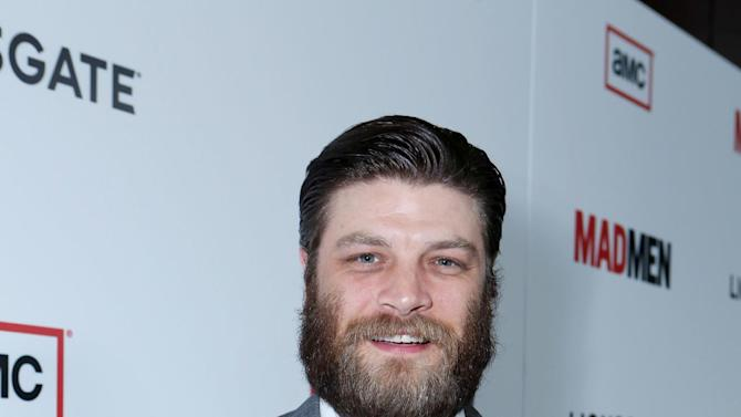 Jay R. Ferguson at the AMC Season 6 Premiere of Mad Men , on Wednesday, March, 20, 2013 in Los Angeles. (Photo by Alexandra Wyman/Invision for AMC/AP Images)